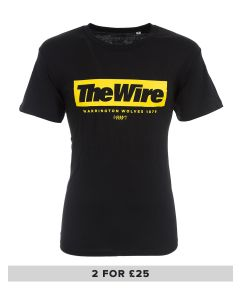 Black The Wire T-Shirt