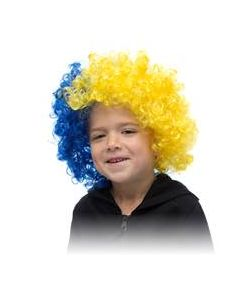 Blue/Yellow Wig
