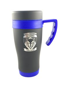 Black/ Blue Travel Mug