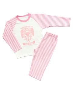 Pink Striped PJs